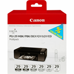 Canon 4868B018 (PGI-29) Ink cartridge multi pack, Pack qty 6
