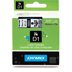 Dymo 45800 (S0720820) DirectLabel-etikettes, 19mm x 7m