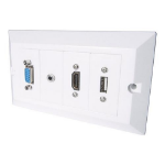 CONNEkT Gear 20-1200 socket-outlet White