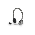 Logitech H111 Binaural Head-band Grey
