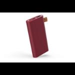 Fresh 'n Rebel 2PB6000RR batería externa Rojo Polímero de litio 6000 mAh