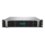 Hewlett Packard Enterprise MSA 1050 Rack (2U) Black disk array Q2R23A