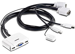 Trendnet TK-217i KVM switch White