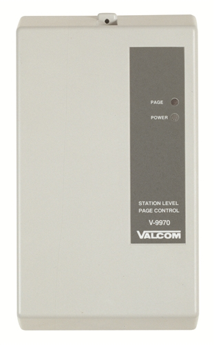 Valcom 1 Zone Extension Adapter Interface Unit