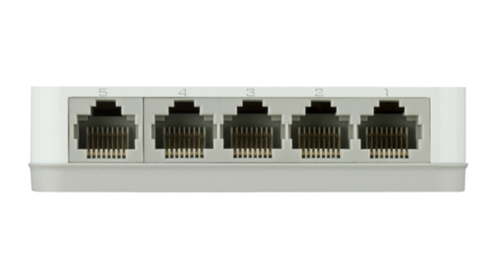 D-Link GO-SW-5G Unmanaged L2 Gigabit Ethernet (10/100/1000) White