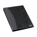 Rexel Soft Touch Combo A4 Display Book 24 Pocket Black