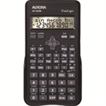 Aurora AX-582BL Pocket Scientific Black calculator