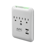 APC Essential SurgeArrest 3 AC outlet(s) 120 V White