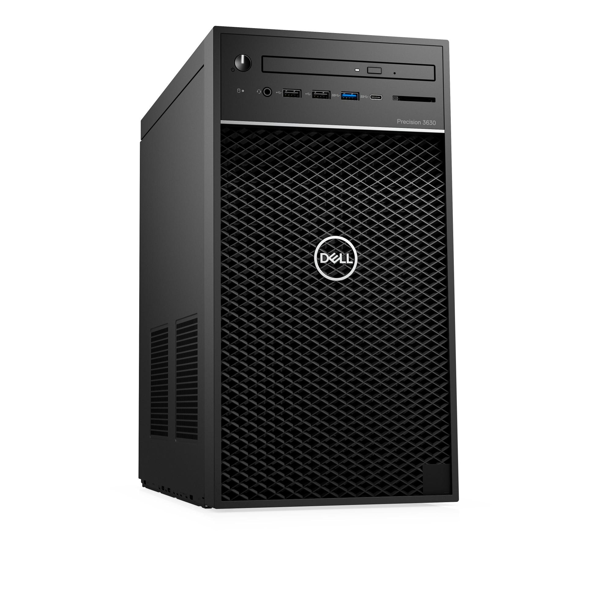 DELL Precision T3630 8th gen Intel® Core™ i7 i7-8700K 32 GB DDR4-SDRAM 1512  GB HDD+SSD Black Tower Workstation