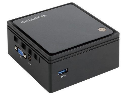Gigabyte GB-BXBT-1900 BGA 1170 2GHz J1900 USFF Black PC/workstation barebone