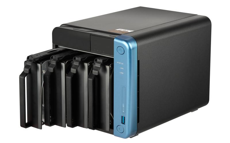 QNAP TS-453Be Ethernet LAN Tower Black,Blue NAS