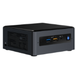 Intel NUC BOXNUC8I7BEH3 PC/workstation barebone i7-8559U 2.7 GHz UCFF Black BGA 1528