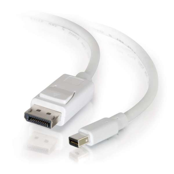 C2G 1m, Mini DisplayPort - DisplayPort Blanco