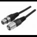 EXC 160625 audio cable 1 m XLR (3-pin) Black