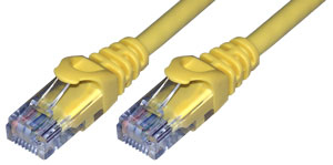 MCL Cable Ethernet RJ45 Cat6 7 m Yellow cable de red Amarillo