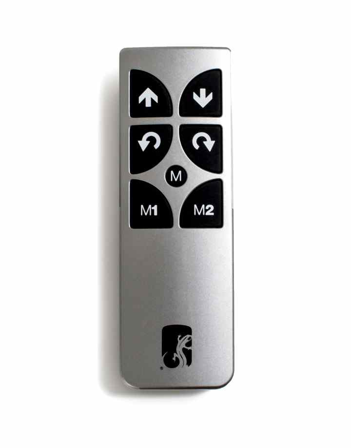 Salamander FPSA/RF1 RF Wireless Silver remote control