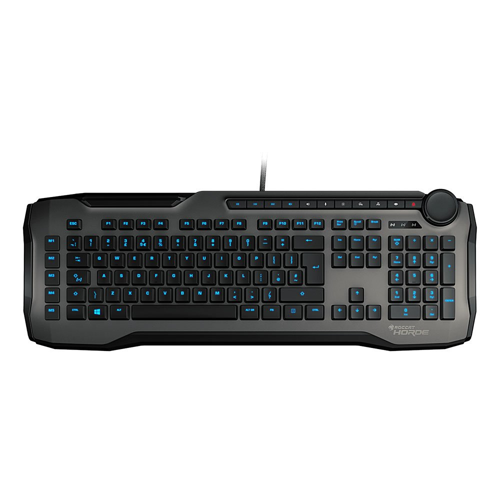 ROCCAT Horde keyboard USB QWERTY UK English Grey