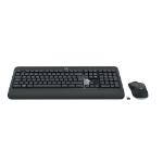 Logitech MK540 Advanced keyboard RF Wireless QWERTY UK English Black, White