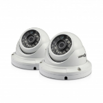Swann PRO-A856 IP security camera Indoor & outdoor Dome White