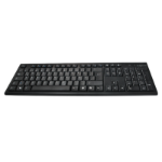 LogiLink ID0104 keyboard RF Wireless QWERTZ Black