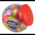 KEVRON Keytags Plastic Tub Assorted ID5AC150Z (PK150)