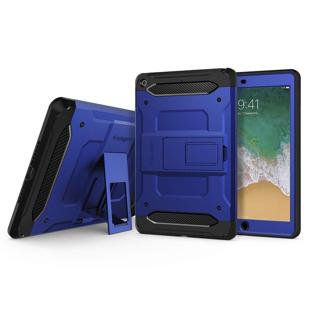 "Spigen 053CS26318 tabletbehuizing 24,6 cm (9.7"") Omhulsel Zwart, Blauw"