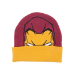 MARVEL COMICS Captain America: Civil War Knitted Iron Man Pattern Cuffed Beanie, One Size, Multi-colour (KC251005I