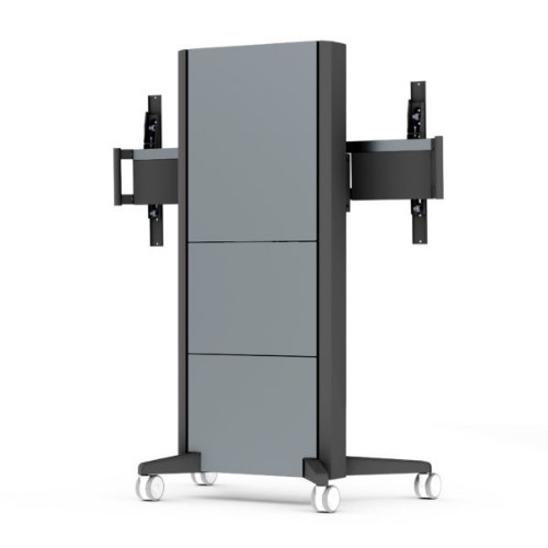SMS Smart Media Solutions C5-31U007-2-C-0 flat panel floorstand Portable flat panel floor stand Aluminium,Anthracite