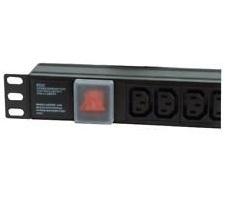 Dynamode PDU-8WS-H-SP-IEC-UK power distribution unit (PDU) 1U Black 8 AC outlet(s)