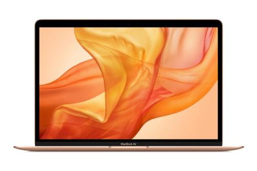 """Apple MacBook Air Notebook Gold 33.8 cm (13.3"""") 2560 x 1600 pixels 10th gen Intel® Core™ i3 8 GB LPDDR4x-SDRAM 256 GB SSD Wi-Fi 5 (802.11ac) macOS Catalina"""