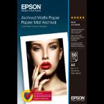 Epson Archival Matte Paper - A4 - 50 Vellen