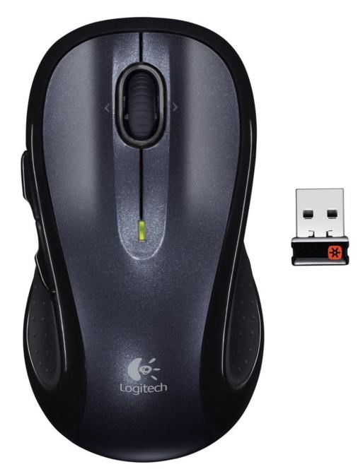 Logitech M510 mouse RF Wireless Laser Ambidextrous