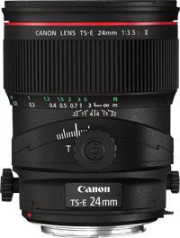 Canon TS-E 24mm f/3.5L II Black