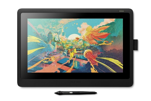 Wacom Cintiq 16 graphic tablet 5080 lpi 344.16 x 193.59 mm Black