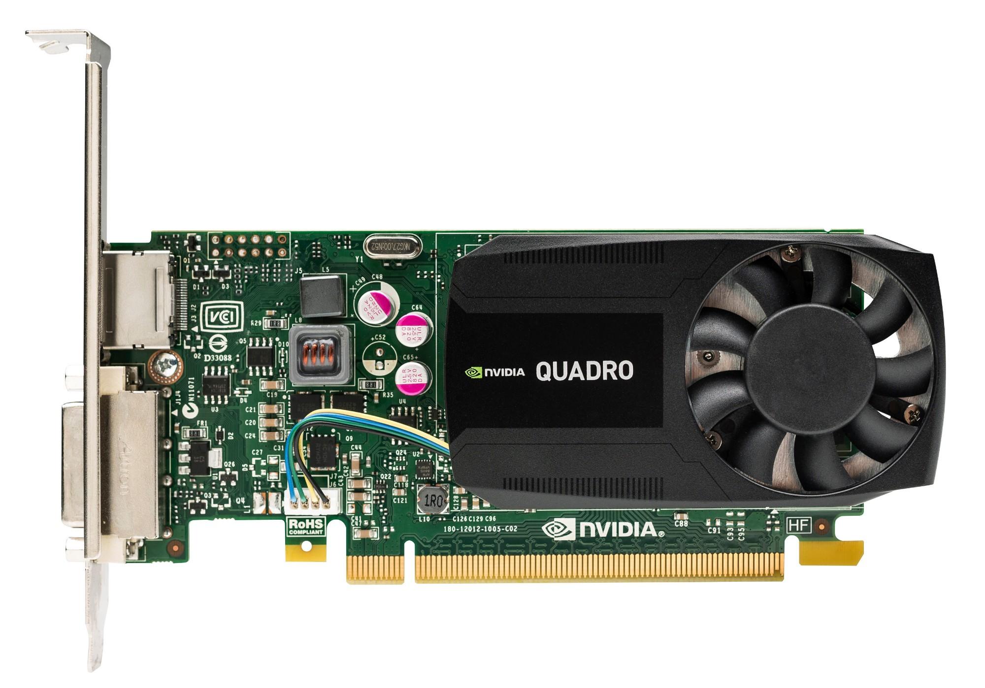HP NVIDIA Quadro K620 2GB Graphics Card