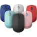 RAPOO M100 2.4GHz & Bluetooth 3 / 4 Quiet Click Wireless Mouse Red - 1300dpi Connects up to 3 Devices, Up