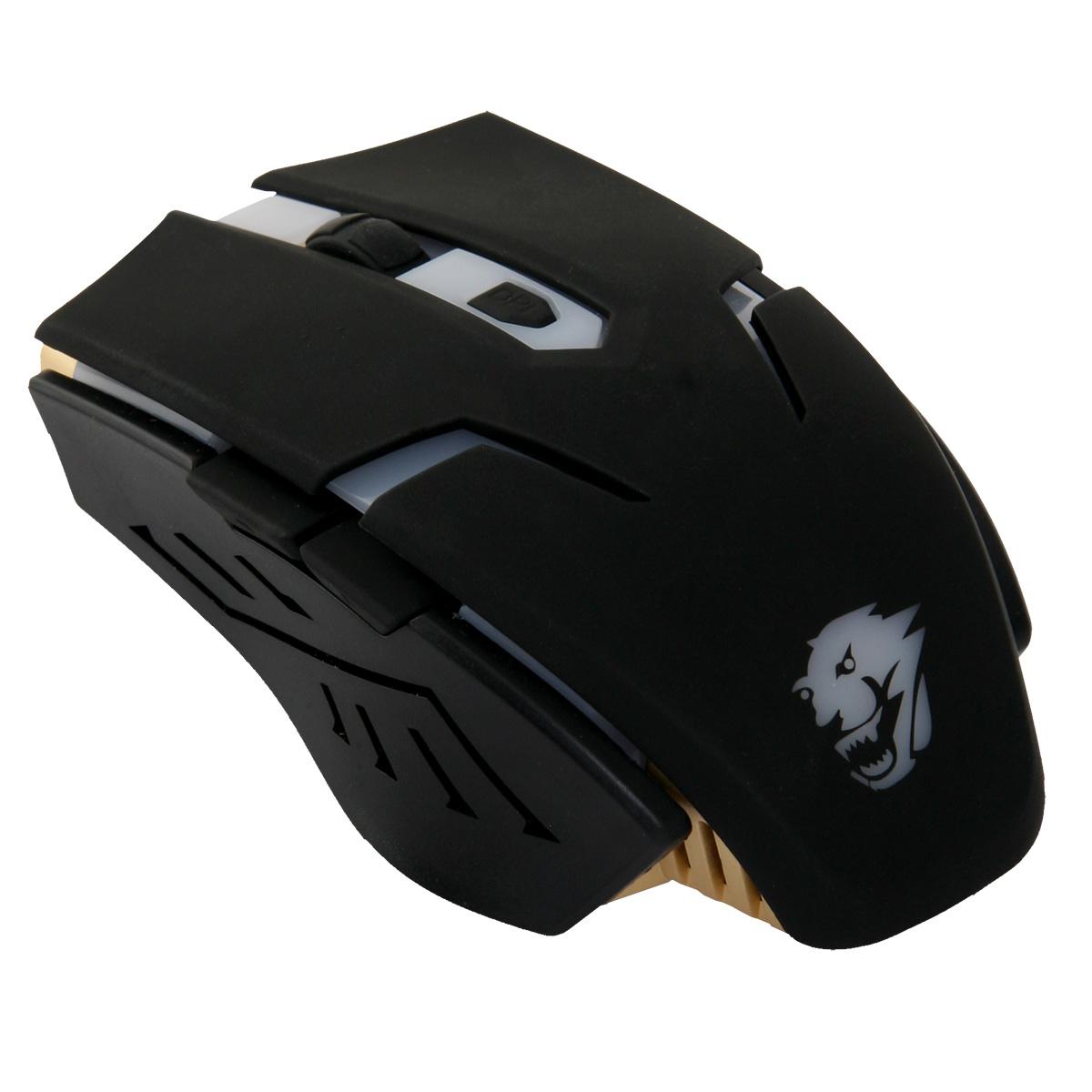 Powercool GM002V2 USB 2400DPI Black Right-hand mice