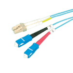 Videk 3182M-1AQ fibre optic cable 1 m LC SC Blue