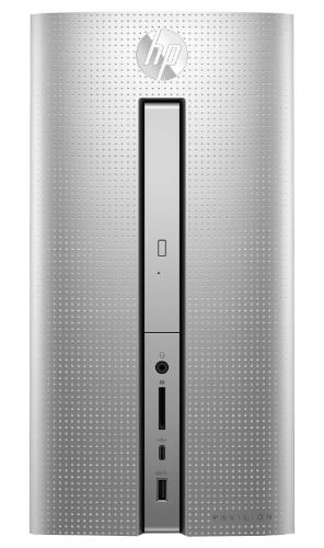 HP Pavilion 570-p052na 3 GHz 7th gen Intel® Core™ i5 i5-7400 Silver Mini Tower PC