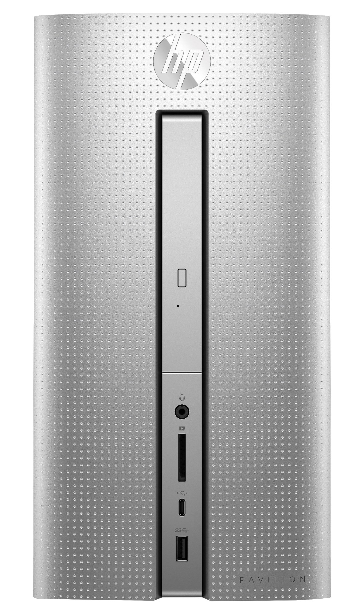 HP Pavilion 570-p052na 3GHz i5-7400 Mini Tower 7th gen Intel® Core™ i5 Silver PC