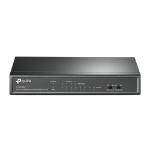 TP-LINK TL-SF1008LP network switch Unmanaged Fast Ethernet (10/100) Power over Ethernet (PoE) Black