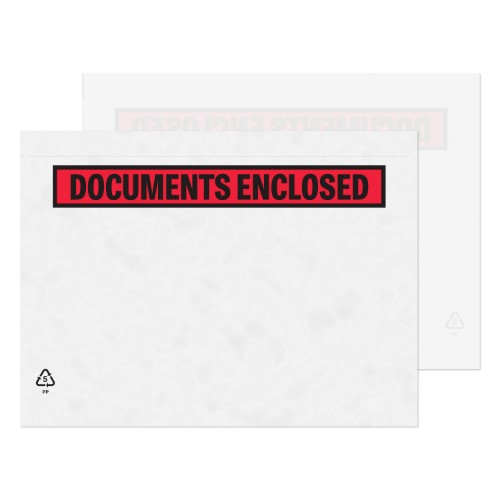 Blake Purely Packaging Printed Document Enclosed Wallet A5 235x175mm (Pack 1000)