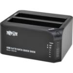 Tripp Lite U339-002 storage drive docking station Black