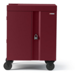 Bretford Cube Portable device management cart Maroon