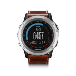 Garmin Fenix 3 Sapphire Leather Bundle