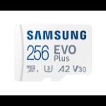 Samsung EVO Plus memory card 256 GB MicroSDXC UHS-I Class 10