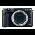 Canon EOS M3 Body MILC Body 24.2MP CMOS 6000 x 4000pixels Black