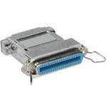 C2G C36FM/DB25M Adapter C36 FM DB25 M Silver cable interface/gender adapter