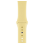 Apple MWUX2ZM/A smartwatch accessory Band Yellow Fluoroelastomer