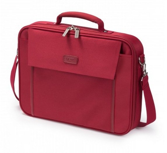Dicota 15.6-Inch Laptop Multi Base Carrying Case - Red (D30920)